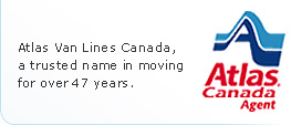 Atlas is a trusted name in moving for over 47 years.
